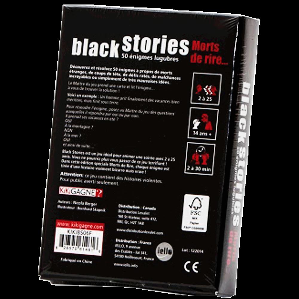 Black Stories - Mort de rire 2 verso