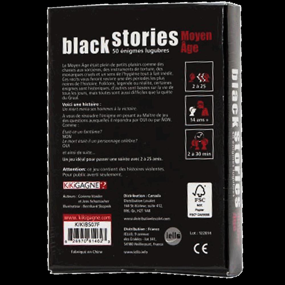 Black Stories - moyen age verso