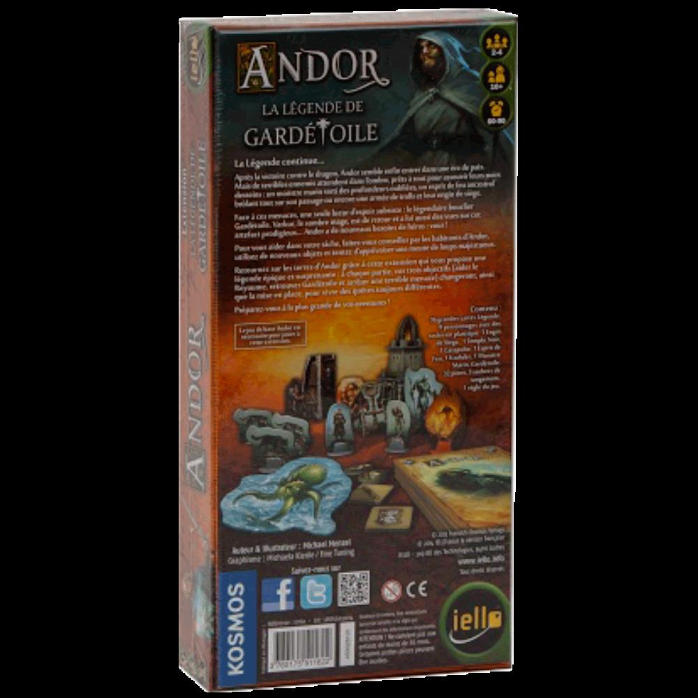 Andor - La légende de Gardétoile verso