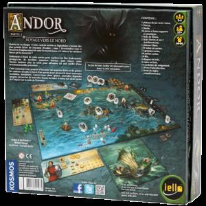 Andor - Voyage vers le Nord verso