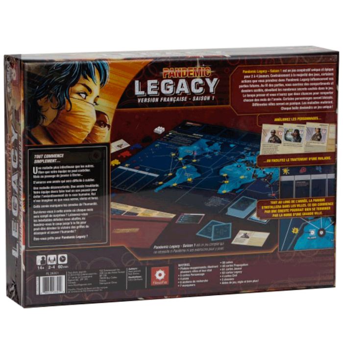 pandemic legacy dos rouge