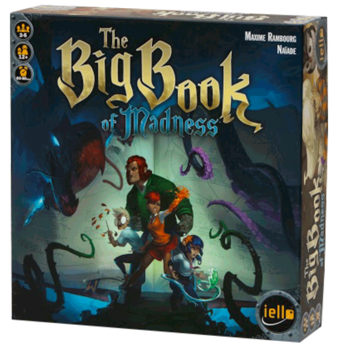 the big book of madness face