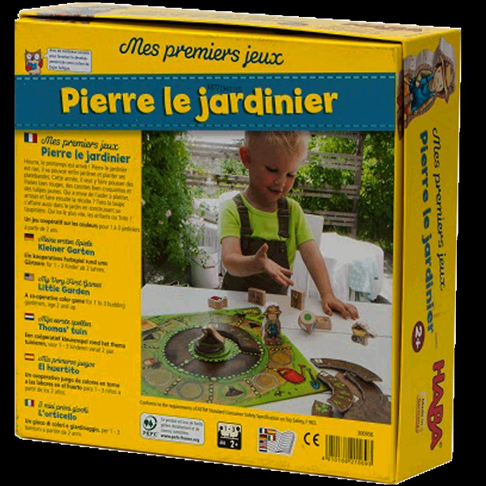 Pierre le Jardinier dos