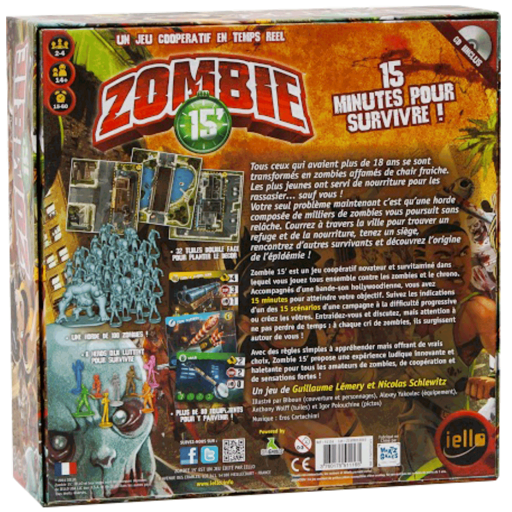 zombie 15' dos