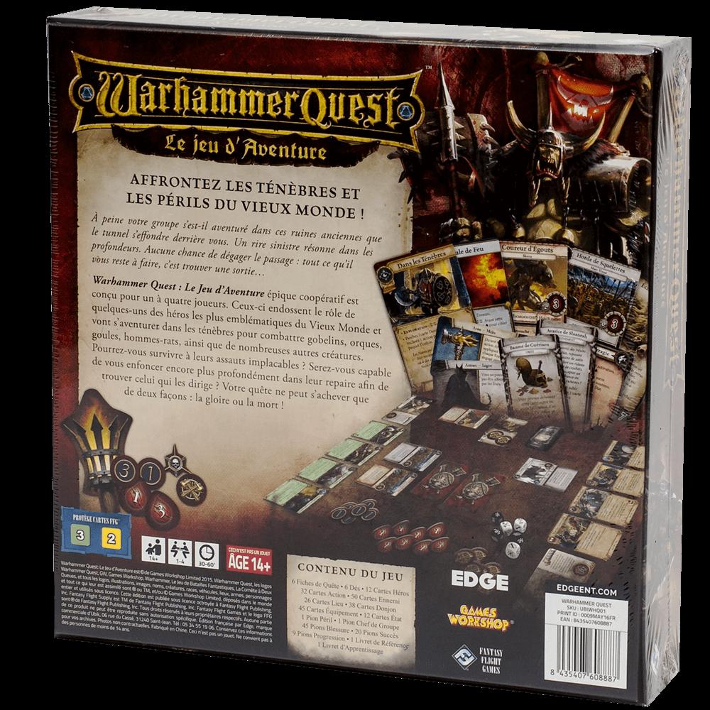 Warhammer Quest - Le jeu d'aventure dos