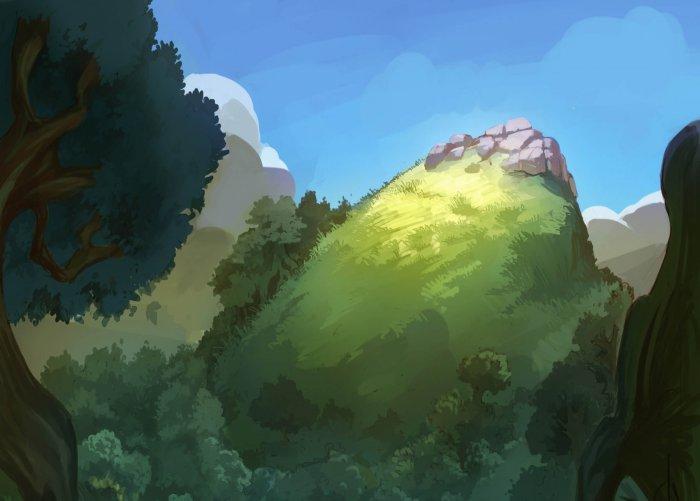 la colline le petit poucet