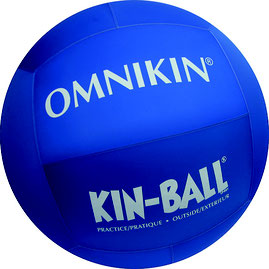 earth ball - omnikin - 102cm exterieur bleu