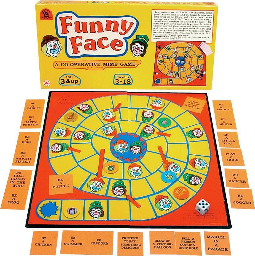 funny face- drole de tete jeu cooperatif