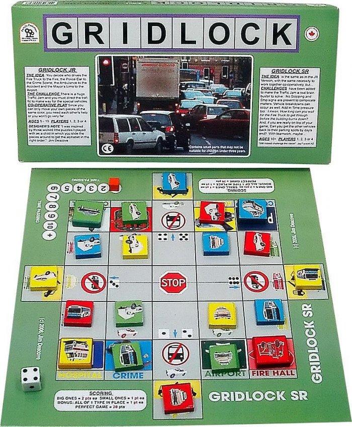 gridlock jeu cooperatif
