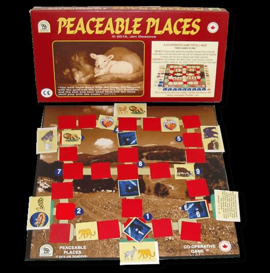 Peaceable-Places- jeu cooperatif Jim Deacove