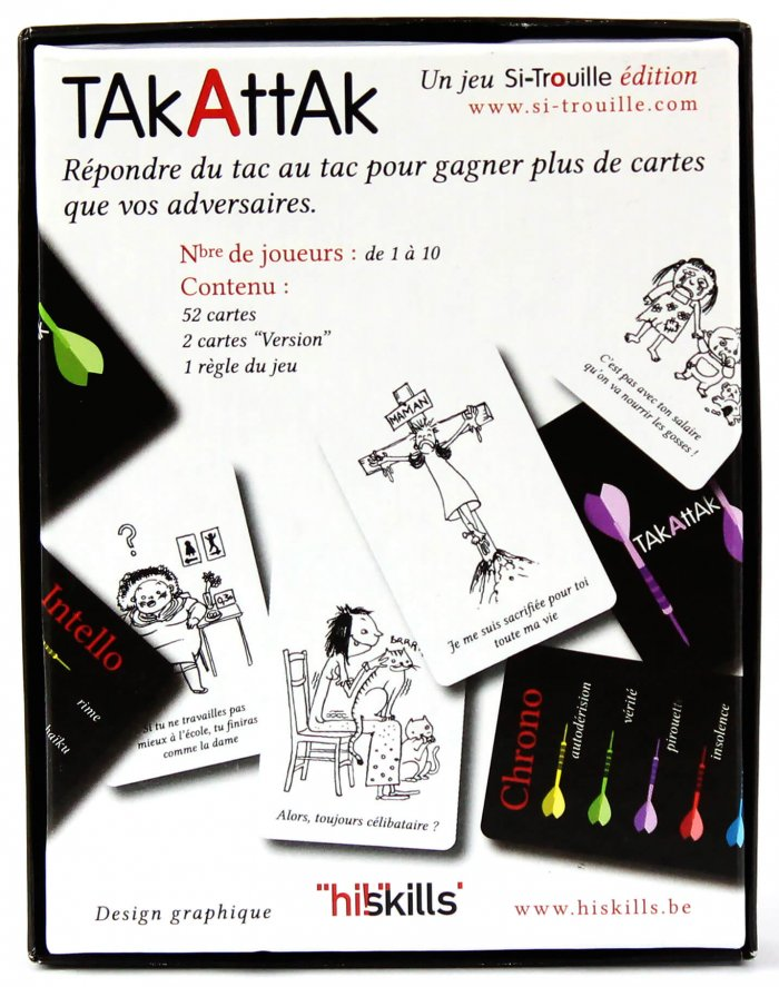 Takattak Classic Boite dos outil relationnel