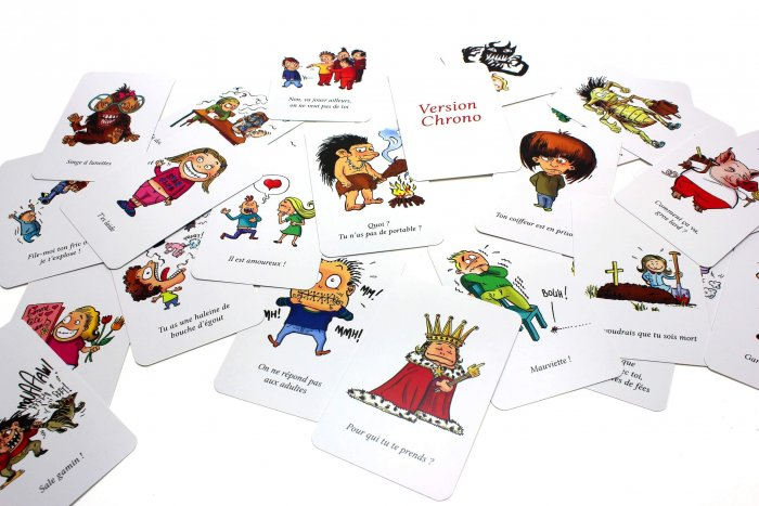 Takattak Family cartes