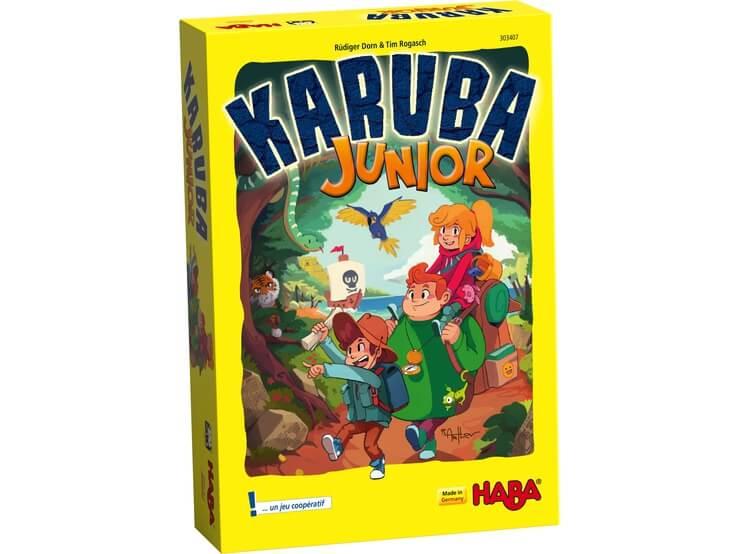 Karuba junior boite jeu cooperatif