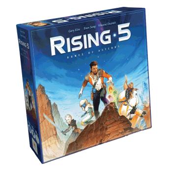 Rising 5 - Runes of Asteros boite jeu cooperatif