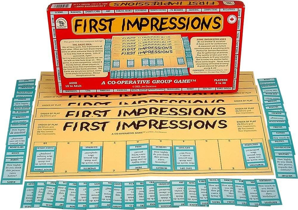 first impressions jim deacove