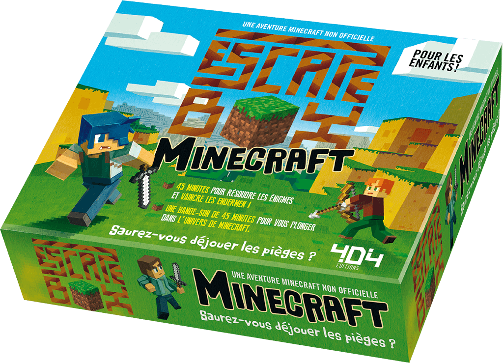 escape_box_minecraft jeu cooperatif