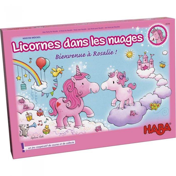 licorne dans les nuages bienvenue a rosalie boite