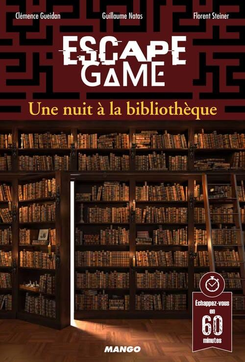 escape game - une nuit a la bibliotheque