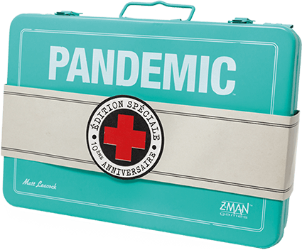 pandemic 10eme anniversaire jeu cooperatif