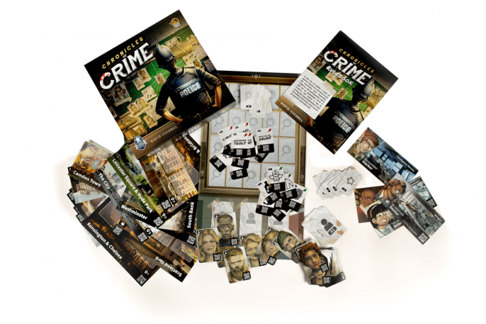 chronicles of crime all components