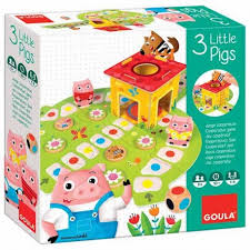 3 little pigs jeu cooperatif