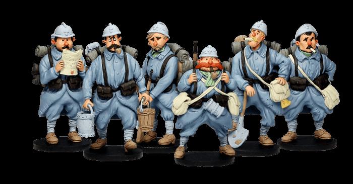 les poilus armistice figurines