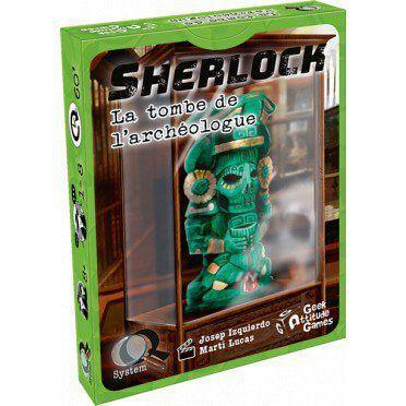 sherlock Q system La Tombe de l'Archéologue