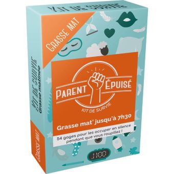 Parent-epuise-Kit-de-survie-Grasse-matinee