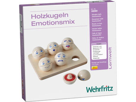 boules de bois emotions melangees