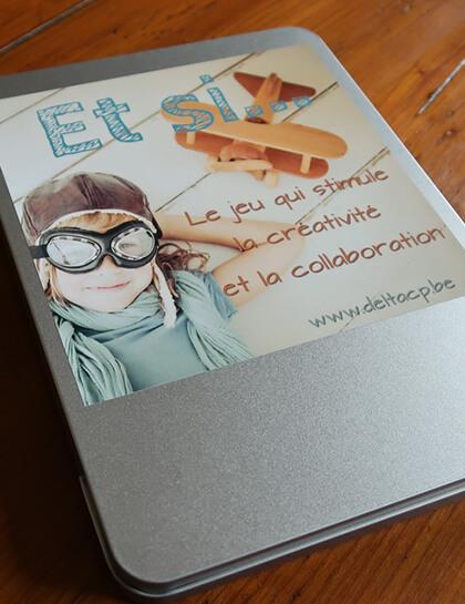 « Et Si… » Outil-Jeu pour la créativité