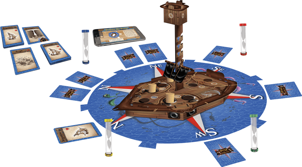 une histoire de pirates jeu cooperatif
