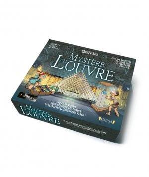 Escape box - Mystère du Louvre - jeu coopératif