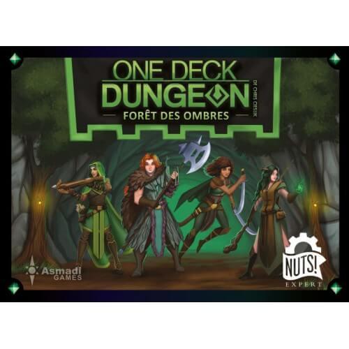 One Deck Dungeon - Foret des Ombres jeu coperatif