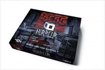 escape box horreur - jeu cooperatif