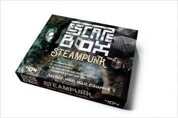 escape box steampunk - jeu cooperatif