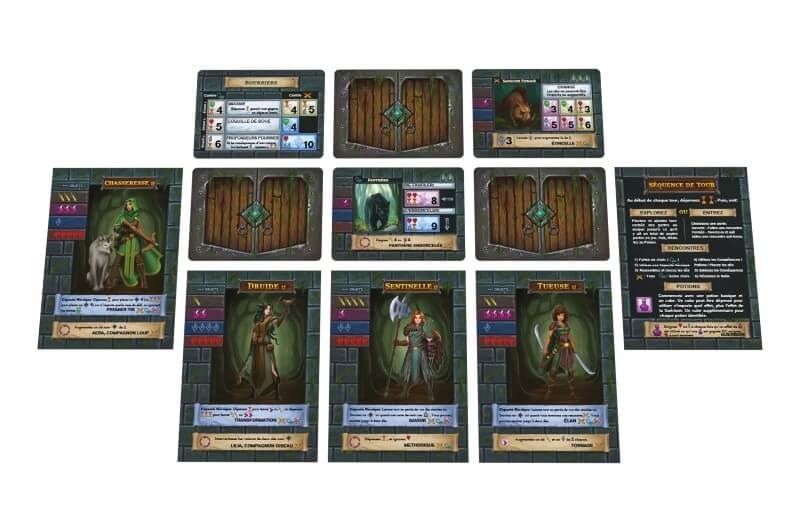 one deck dungeon foret des ombres cartes