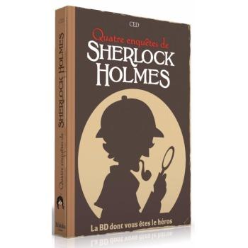 Quatre enquêtes de Sherlock Holmes - La BD dont vous êtes le Héros jeu cooperatif