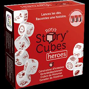 story cubes heros jeu cooperatif