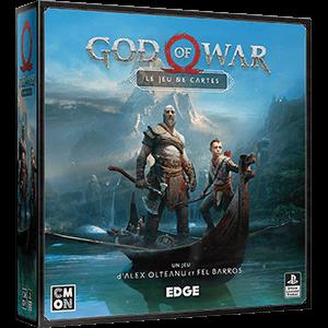 god of war le jeu de cartes cooperatif
