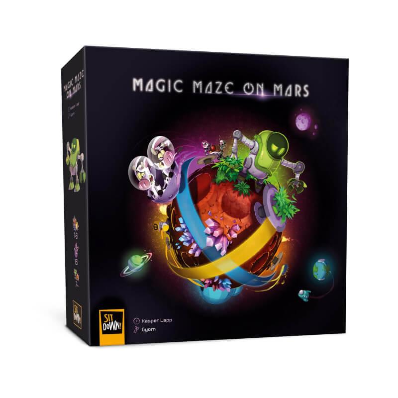 magic-maze on mars jeu cooperatif