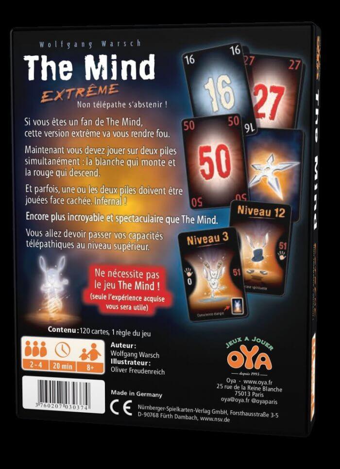 the mind extreme dos - jeu cooperatif