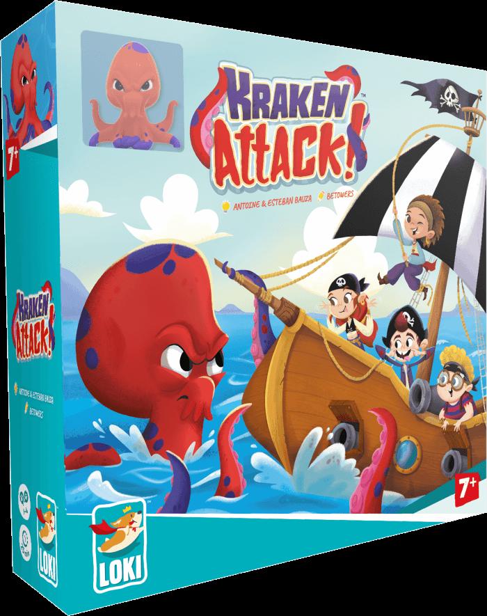 Kracken Attack jeu cooperatif