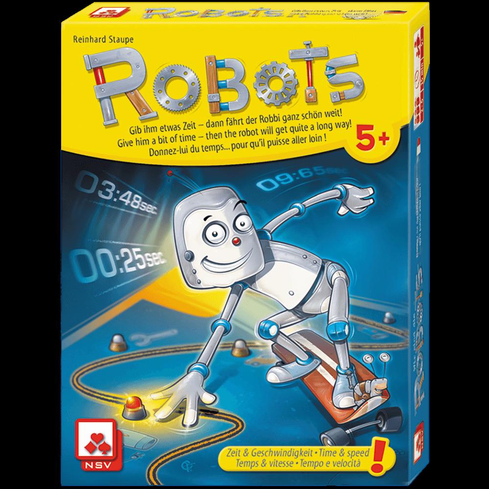 Robots Jeu coopératif