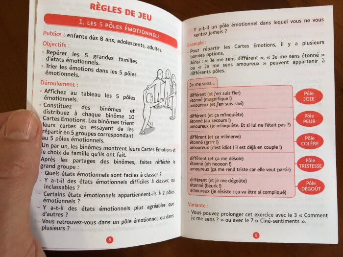 Notice Jeu carte émotions et sentiments - outil relationnel