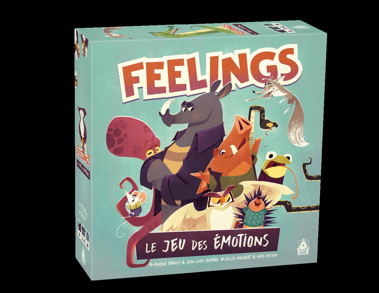 feelings le jeu des emotions jeu cooperatif outil relationnel boite