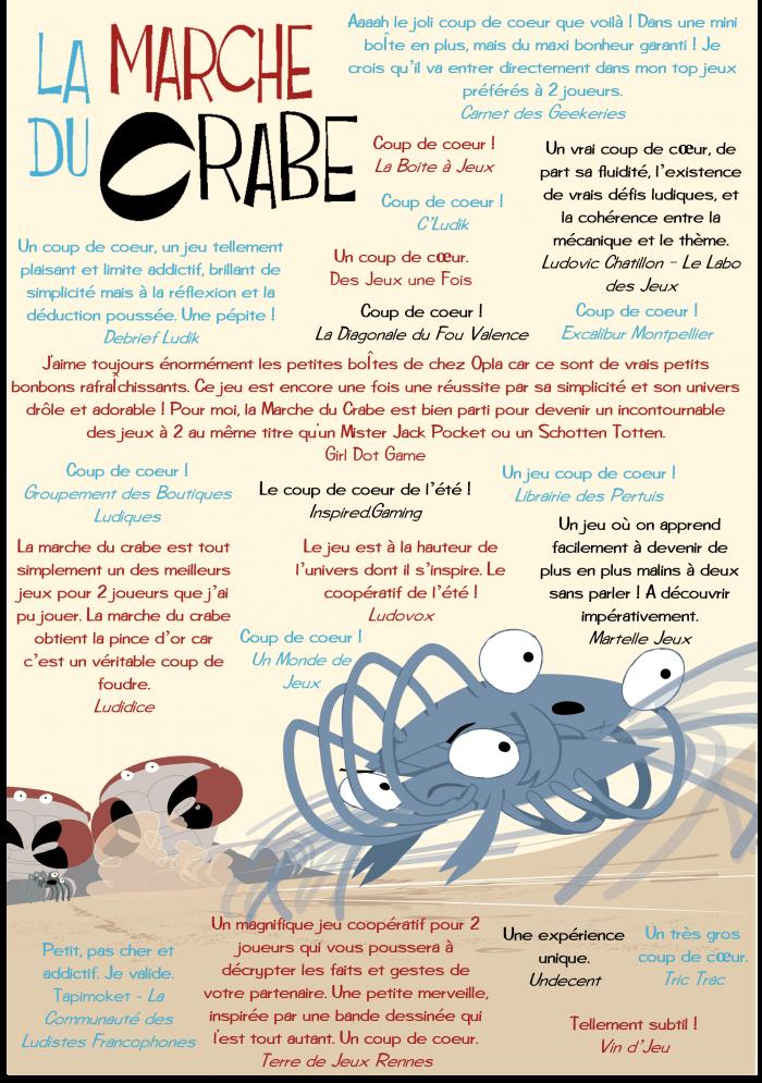 la marche du crabe jeu cooperatif