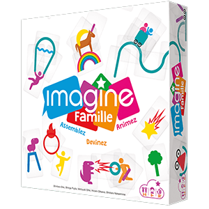 Imagine famille jeu coopératif