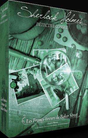 Sherlock Holmes Detective Conseil Les francs-tireurs de Baker Street