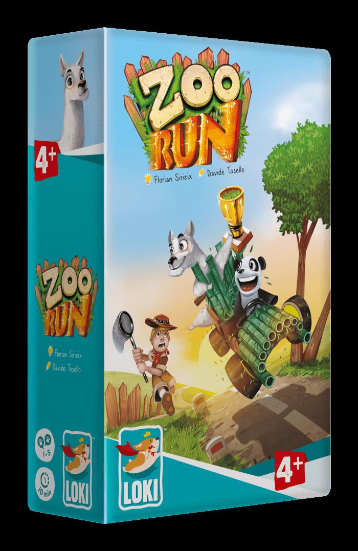 Zoo-run jeu cooperatif et compétitif