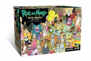 rick and Morty totalrickall jeu de cartes coopératif